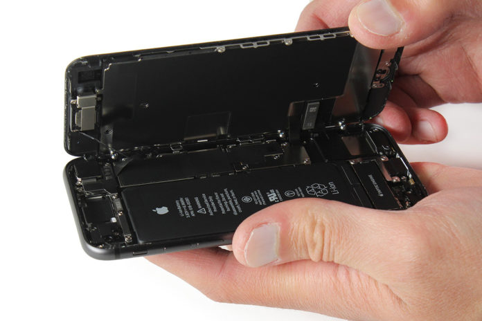 reparation iphone 8